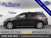 CARFAX One-Owner. Clean CARFAX. 2016 Chevrolet Traverse