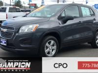 CARFAX One-Owner. Cyber Gray Metallic 2016 Chevrolet