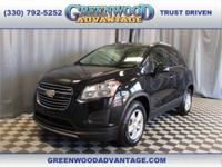 Black Granite Metallic 2016 Chevrolet Trax LT AWD
