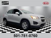 Silver Ice Metallic 2016 Chevrolet Trax 100 Year Or