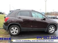 Recent Arrival! 2016 Chevrolet Trax LT **ANOTHER WEBER