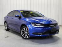 CARFAX One-Owner. 2016 Chrysler 200 S Vivid Blue Clean
