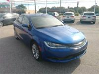 Recent Arrival! 2016 Chrysler 200 S 23/36 City/Highway