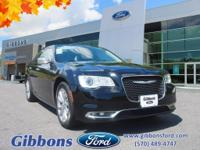 Clean CARFAX. 2016 Chrysler 300C Base Well equipped