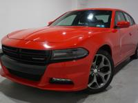 Clean CARFAX. 2016 Dodge Charger SXT RWD 8-Speed