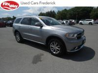 2016 billet silver metallic clearcoat Dodge Durango