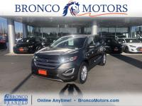 Magnetic Metallic 2016 Ford Edge SEL AWD AWD 6-Speed