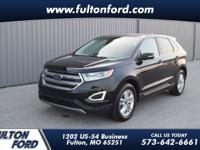 Shadow Black 2016 Ford Edge SEL AWD 6-Speed Automatic