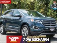 2016 Ford Edge SEL Too Good To Be Blue Metallic