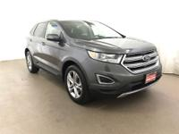 New pricing on this 2016 Ford Edge Titanium! Blind Spot