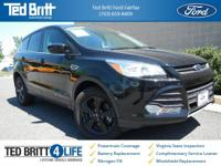 2016 Ford Escape SE in Shadow Black w/ Charcoal Black