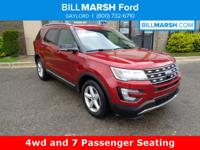 2016 Ford Explorer XLT AWD. Third row seating,plus,