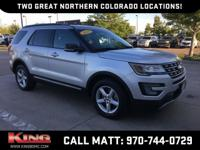 Ingot Silver Metallic 2016 Ford Explorer XLT AWD
