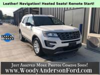 Leather Seating, Heated Seats, Remote Start, Local