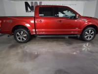 LARIAT PACKAGE, FX4 PACKAGE, DUAL POWER SEATS, LEATHER