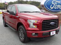 Ruby Red 2016 Ford F-150 4WD 6-Speed Automatic