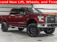 Lifted 2016 Ford F-150 4x4 SuperCrew XLT FX4 (Stock