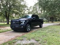 For sale is a black 2016 Ford F-150 4x4 SuperCrew