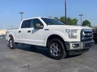 4WD. White 2016 Ford F-150 4WD 6-Speed Automatic