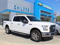 This Ford F-150is equipped with power