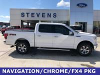 2016 Ford F-150 Lariat 4WD 6-Speed Automatic Electronic