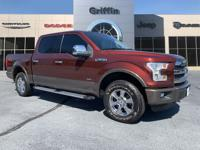 Bronze Fire Metallic 2016 Ford F-150 Lariat 4WD 6-Speed