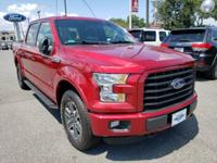 Ruby Red Metallic Tinted Clearcoat 2016 Ford F-150 XLT