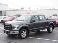 Gray 2016 Ford F-150 XL 4WD 6-Speed Automatic