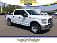 4x4 with low miles 2016 Ford F-150 XLT in Oxford White