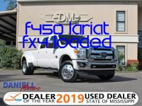 Extremely Well Serviced! Rare F-450 Lariat, No
