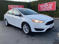 Recent Arrival!Oxford White 2016 Ford Focus SE 2.0L