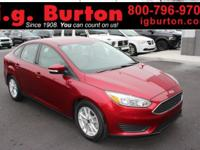 2016 Ford Focus SE ***THIS VEHICLE IS SCHEDULED TO