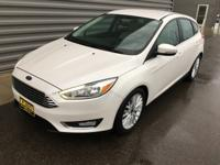 2016 Ford Focus Titanium FWD Good Tires, Good Brakes,