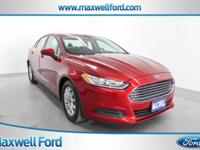 This outstanding example of a 2016 Ford Fusion S is