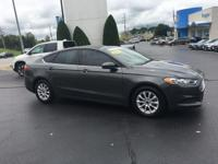 6-Speed Automatic. 2016 Ford Fusion S FWD 6-Speed
