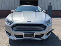 Check out this 2016 Ford Fusion SE in Silver with