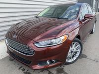 2016 Ford Fusion SE GOOD TIRES, GOOD BRAKES, Heated
