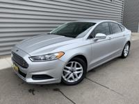 2016 Ford Fusion SE FWD Backup Camera, 6-Speed