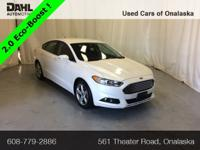 Recent Arrival! 2016 Ford Fusion SE CARFAX One-Owner.