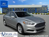 2016 Ford Fusion SE Ingot Silver CarFax 1 Owner, CarFax