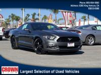Magnetic Metallic 2016 Ford Mustang EcoBoost RWD