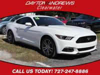 Clean CARFAX. This 2016 Ford Mustang EcoBoost Premium