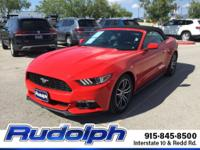 CARFAX One-Owner. Clean CARFAX. Race Red 2016 Ford