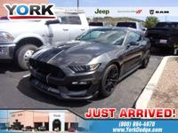 Magnetic Metallic 2016 Ford Mustang Shelby GT350 RWD