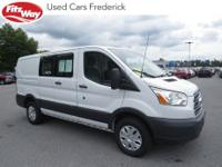2016 Oxford White Ford Transit-250 6-Speed Automatic