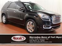 This 2016 GMC Acadia Denali comes loaded with features