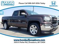 Purple 2016 GMC Sierra 1500 SLE 4WD 6-Speed Automatic
