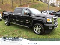 Fully Detailed. Black 2016 GMC Sierra 2500HD SLT 4WD
