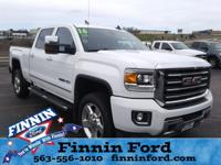 This GMC Sierra 2500HD is well equipped and includes