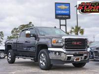 Iridium Metallic 2016 GMC Sierra 2500HD SLT 4WD Allison
